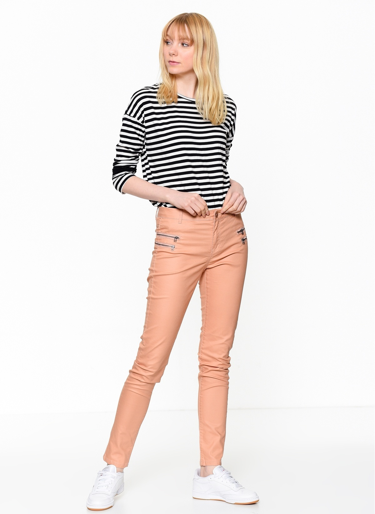 Vero Moda Pantolon | Fame 10121712 Fame Nw Sup.sl Zip Pants Pi333 – 29.9 TL